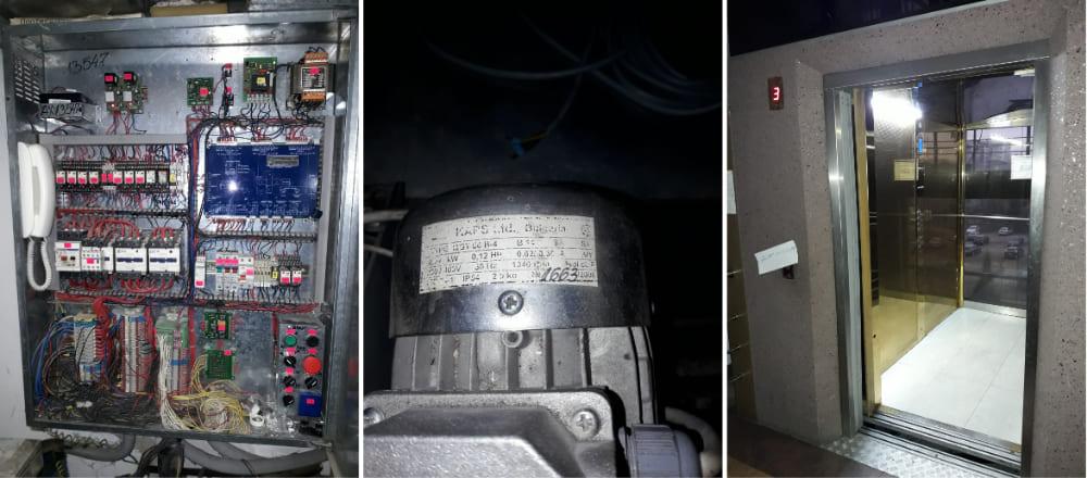 модернизации привода открывания дверей лифта